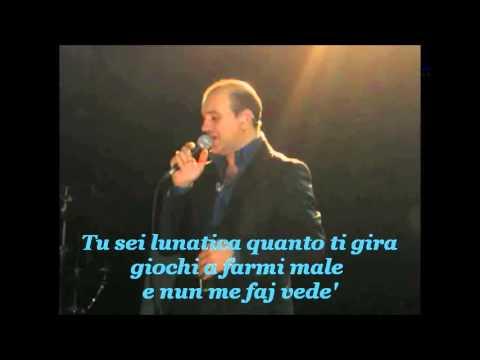 GIANNI CELESTE  Pero' te penze karaoke