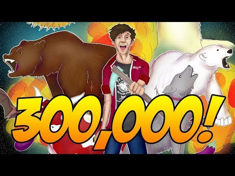 300,000 SUBSCRIBERS!