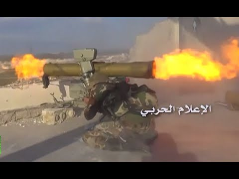 Syria battleground: Govt troops vs rebels combat footage from Aleppo region