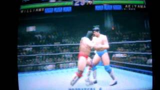 """Japan Pro-Wrestling featuring virtua"" Sega ST-V"