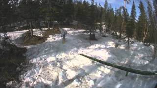 No fear, babe...female snowboarding and ski video