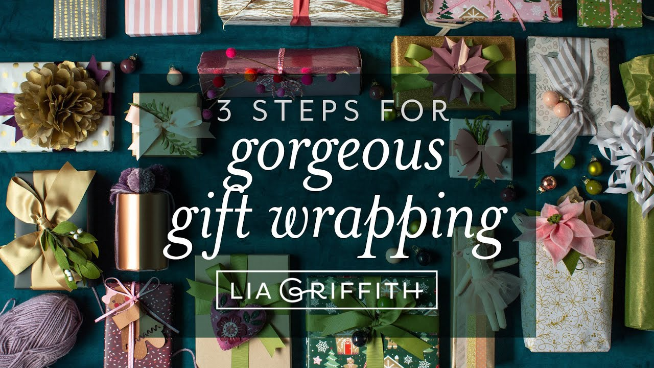 Video Series: Gorgeous Gift Wrapping