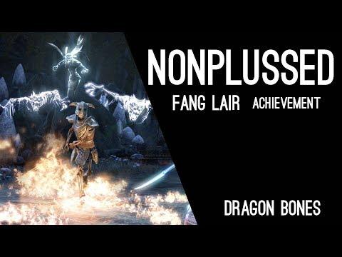 Nonplussed Fang Lair Achievement - Dragon Bones DLC ESO