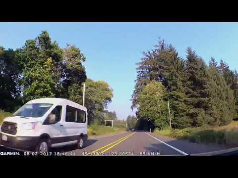 From Pacific Coast to Portland, OR. От океана к Портленду, Орегон (2409sp)