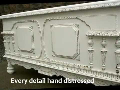 white furniture shabby chic. Perfect Chic Hand Painted White Distressed Shabby Chic Blanket Chest Furniture Inside