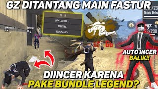 GZ DITANTANG MAIN FAST TOUR?! DIINCER MUSUH KARENA PAKE BUNDLE LEGEND! AUTO INCER BALIK - FREE FIRE