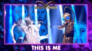 Duiker & Koningin - 'This Is Me' - The Greatest Showman | The Masked Singer | VTM