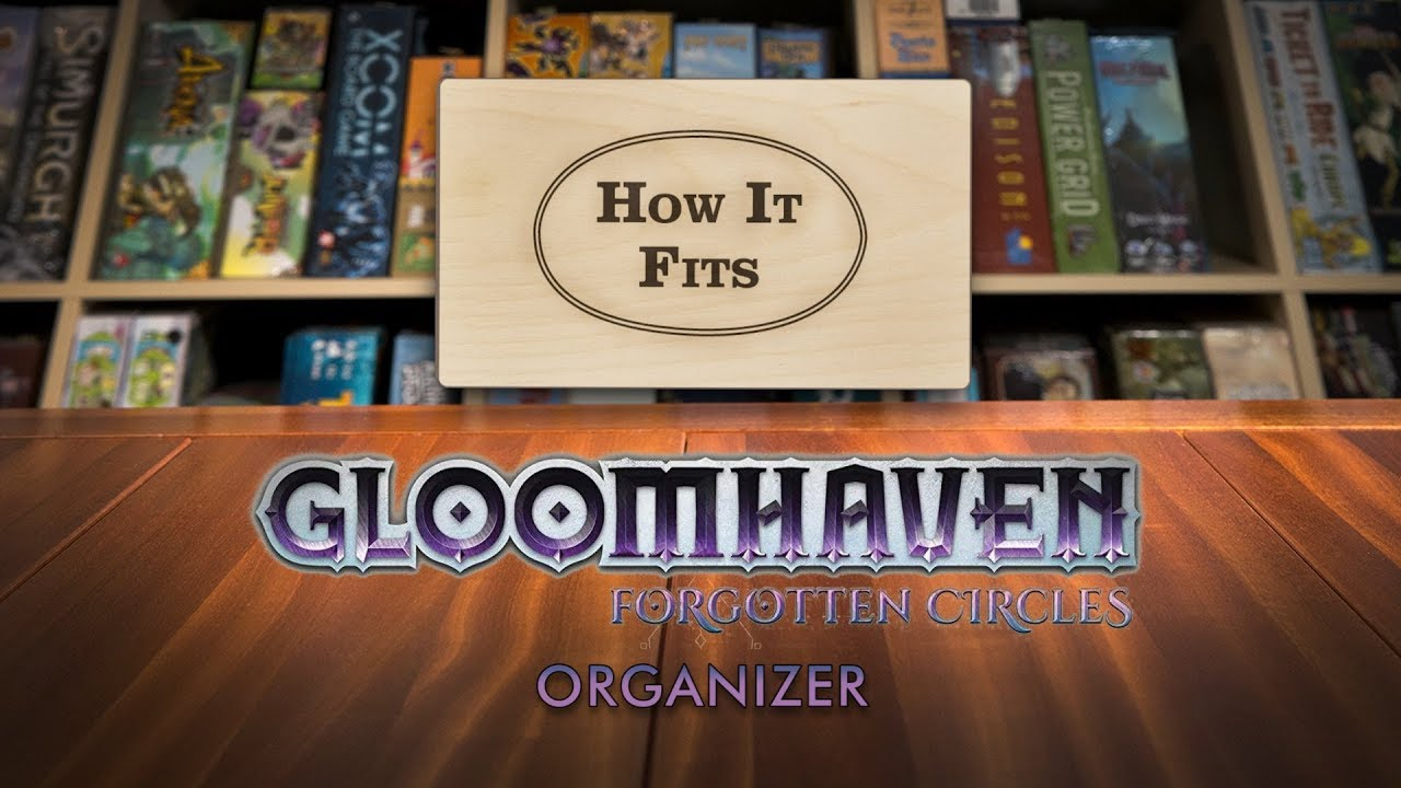 Gloomhaven Forgotten Circles Cephalofair Games Brand New 2019 Edition