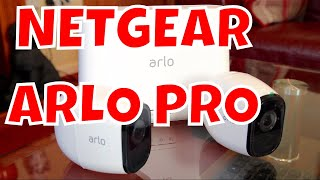 Netgear Arlo Pro Security Camera Review - Arlo Pro Smart Home Security System Review