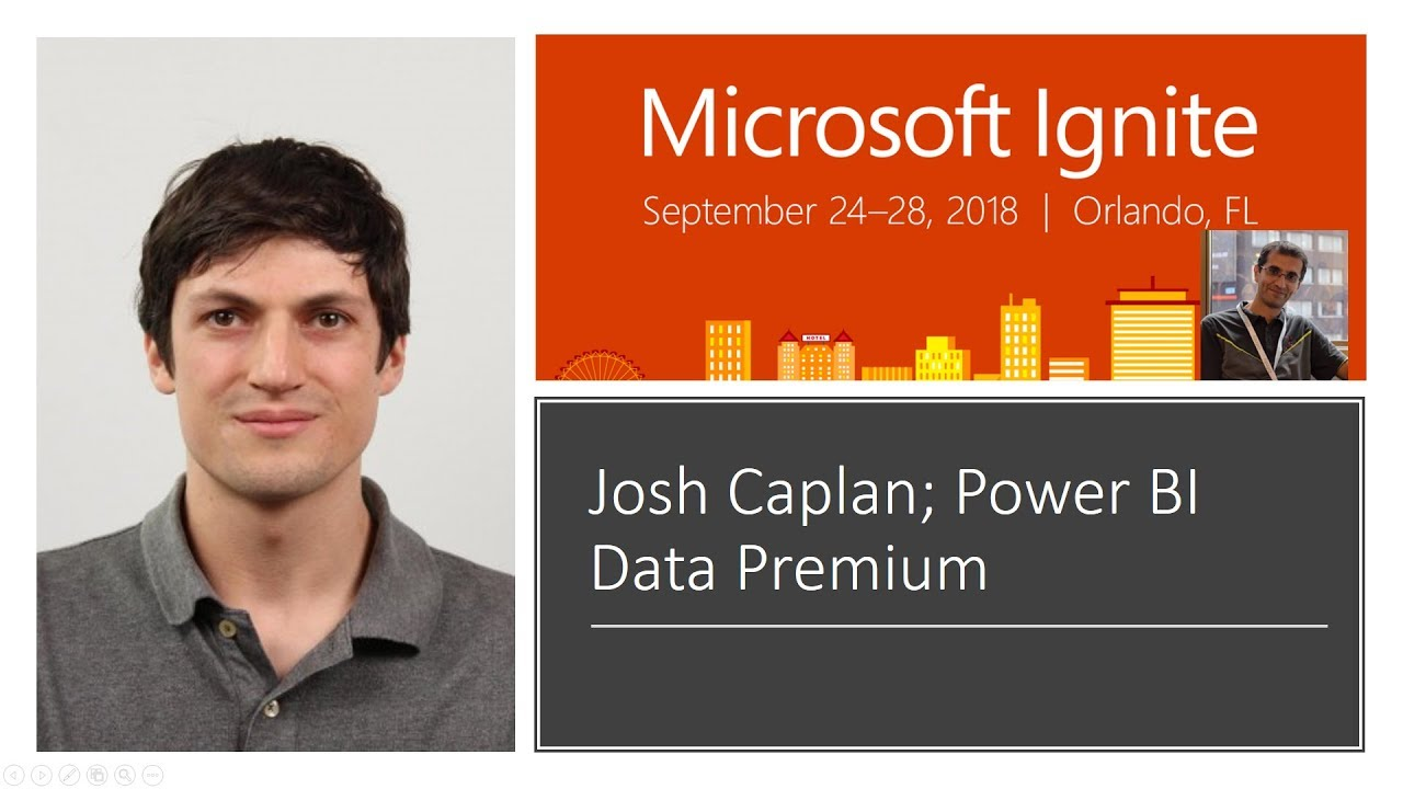 maxresdefault Webinar 10/18 Group Program Manager, Josh Caplan, and the Power BI team host an Ask Anything around managing and monitoring Power BI Premium