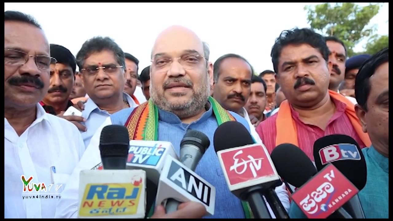 Shri Amit Shah congratulates BJP Karnataka unit & people of Bengaluru on wining BBMP election.
