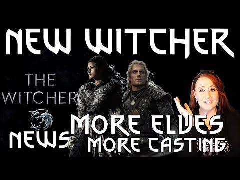 New Witcher Cast! More Elves & New Bard (WITCHER NETFLIX NEWS)