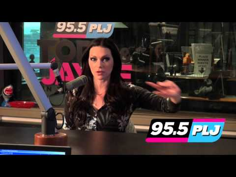 Laura Prepon on Todd & Jayde 95.5 PLJ radio