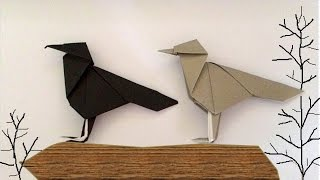 Origami Crow (พับอีกา)