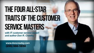 The Four All-Star Traits of the Customer Service Masters: Customer Service Training 101