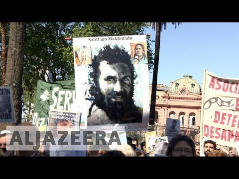Missing Argentine activist's body found days before election