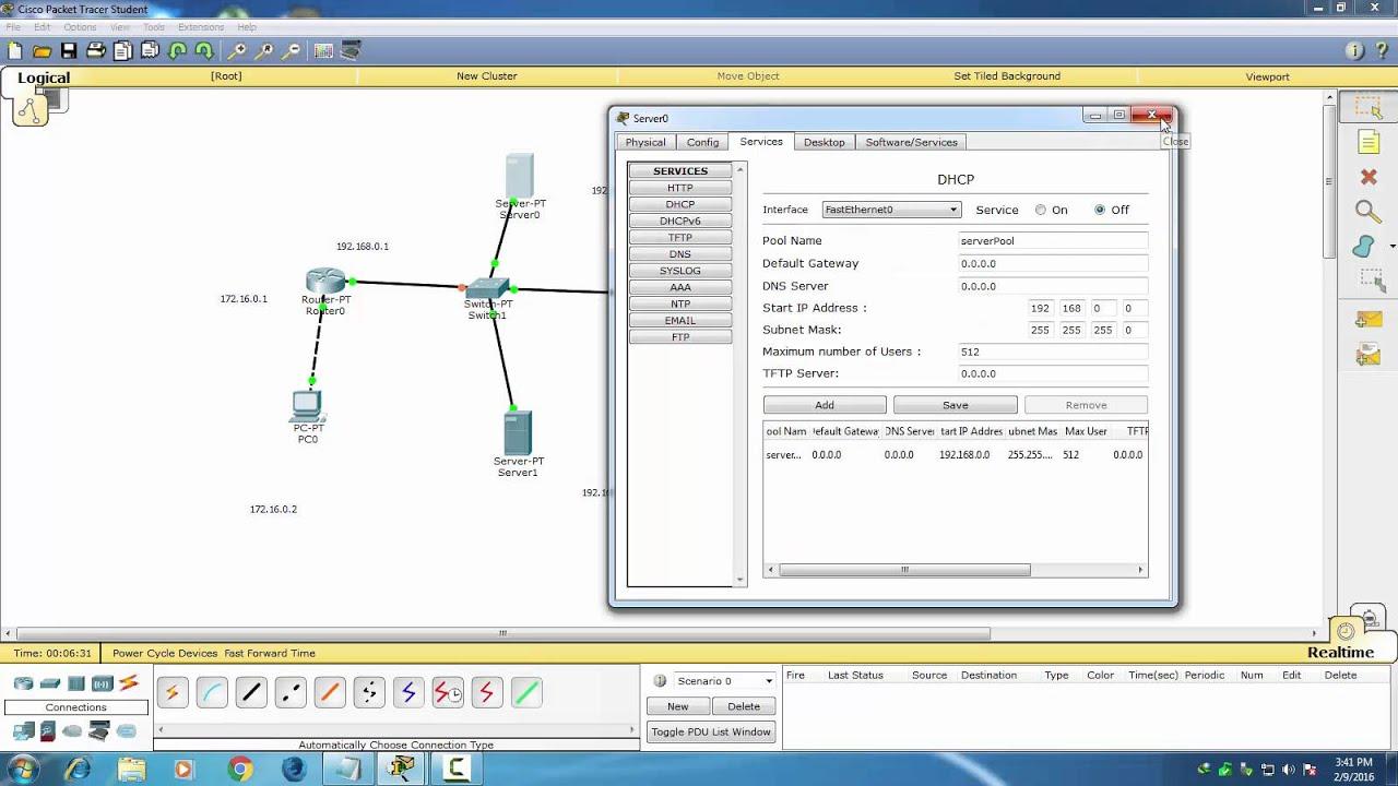 Vpn сервер в cisco packet tracer icecast установка на виртуальный сервер