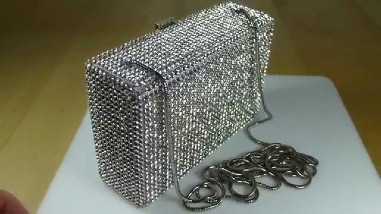 b5df9de7200 Swarovski Kiosque Evening Bag Showcase - YouTube