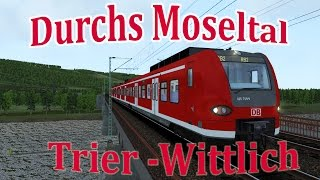 Repeat youtube video LET´S PLAY Train Simulator 2015   Folge 148    RB 82 Trier - Wittlich