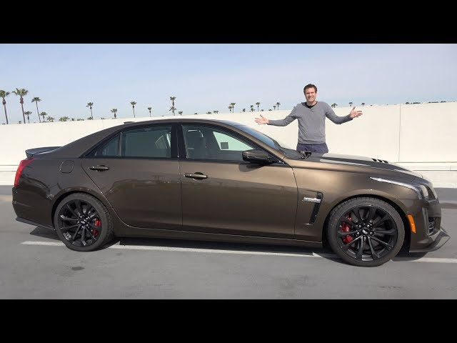 The 2019 Cadillac CTS-V Is a Crazy Fast Luxury Sedan