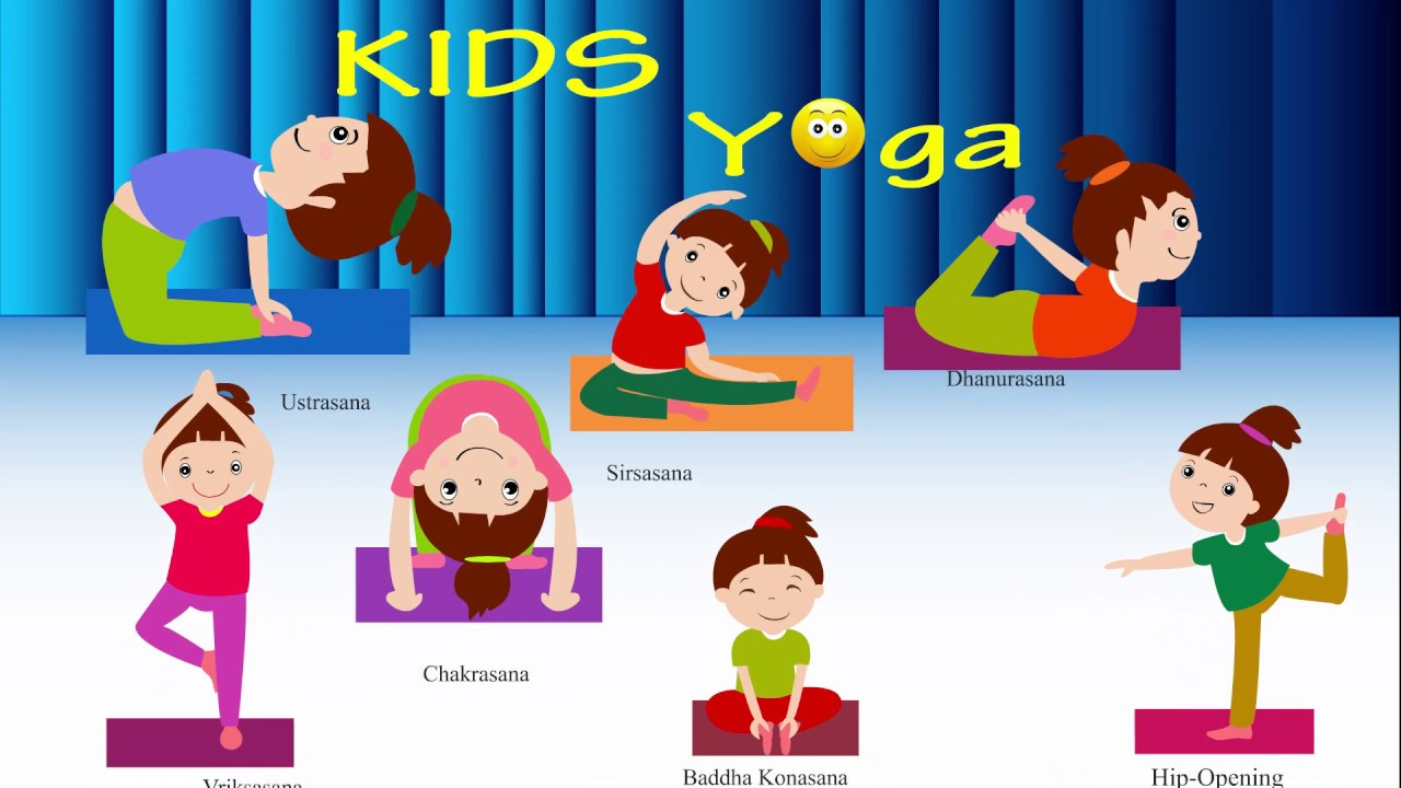 Kids Yoga Asana Poses