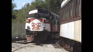 Volunteering at the New England Railroad Museum Part 1