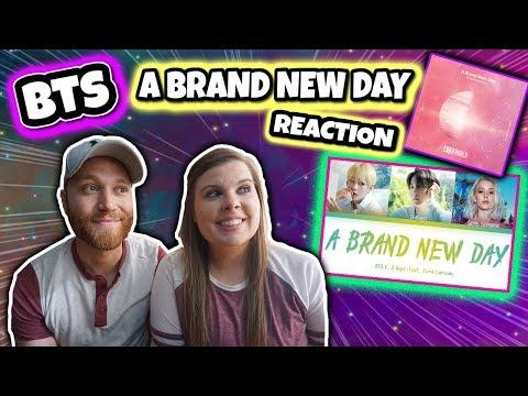 BTS - A Brand New Day ft. Zara Larsson (방탄소년단A Brand New Day) [Color Coded Lyrics] Reaction