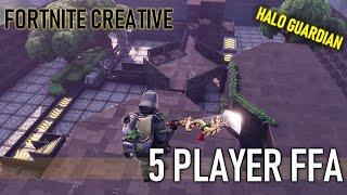 5 player ffa halo guardian map fortnite creative mode. Map code: 8677-8620-2681