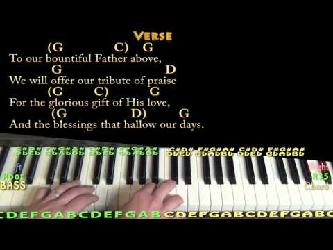 Sweet By and By (GOSPEL) Piano Cover Lesson in G with Chords/Lyrics