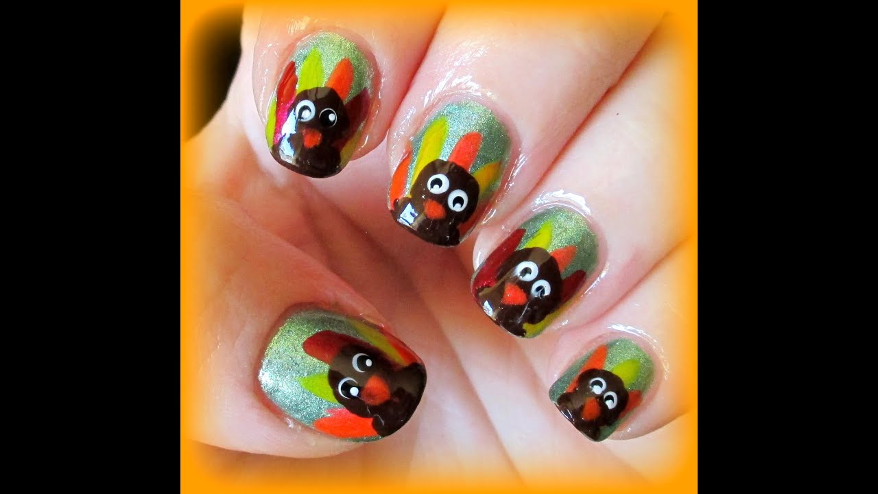 Cuteeasy Turkey Nail Art Youtube