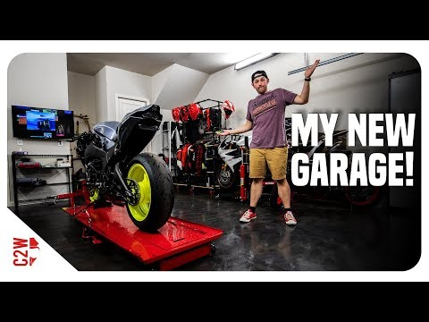 The garage is FINALLY MOVED!! Full Garage Tour