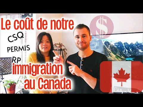FACE CAM : Combien coûte notre immigration au Canada ?