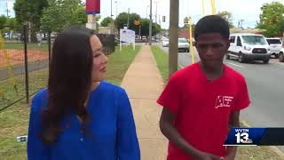 Teen walks, takes bus to high school graduation