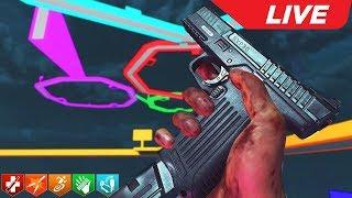 INSANE OCTOGONAL SHAPE ZOMBIE SURVIVAL MAP! 'VERY HARD' (Call of Duty: Custom Zombies)