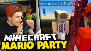 MEIN VATER RUFT MITTEN IN DER AUFNAHME AN! ✪ Minecraft Mario Party