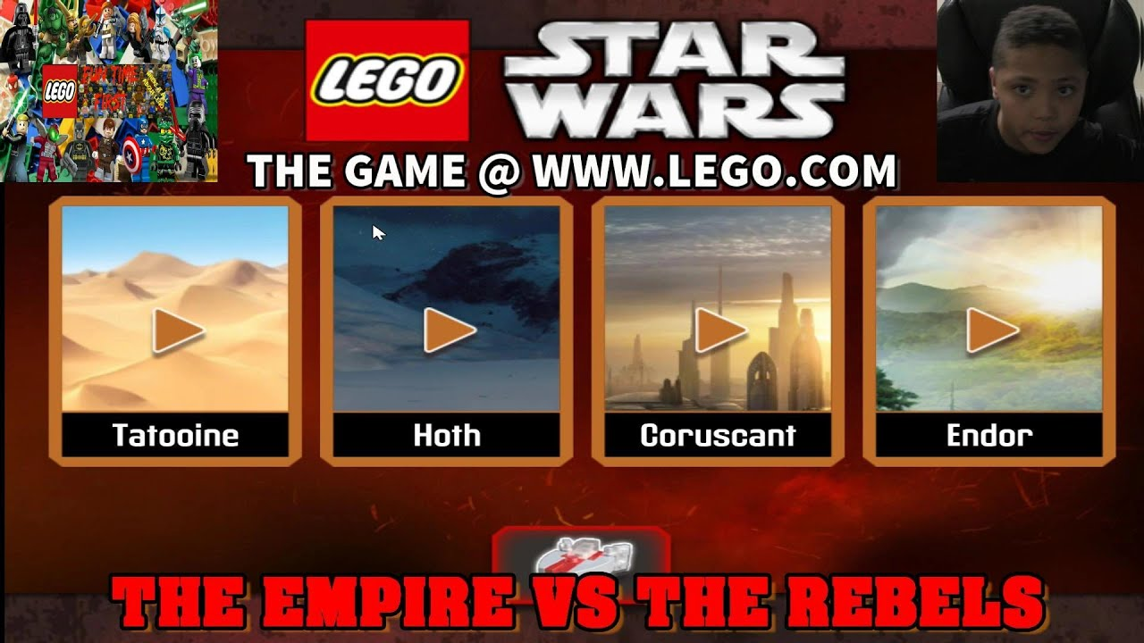 Lego Star Wars Game Empire Vs Rebels Youtube