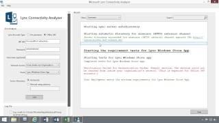 Office 365 Tutorial: Microsoft Lync Connectivity Analyzer |video2brain.com