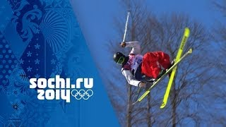 Magnificent Ski Slopestyle Technique As Joss Christensen Wins Gold | Sochi 2014 Winter Olympics