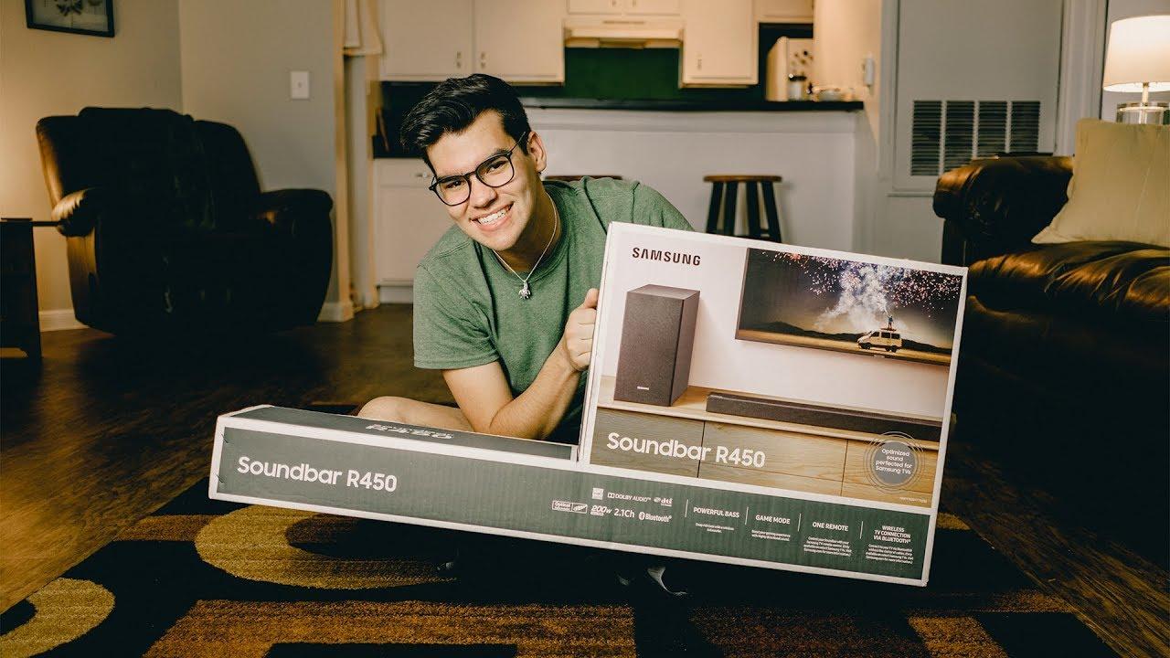 Samsung HW-R450 soundbar speaker 2.1 channels 200 W Black
