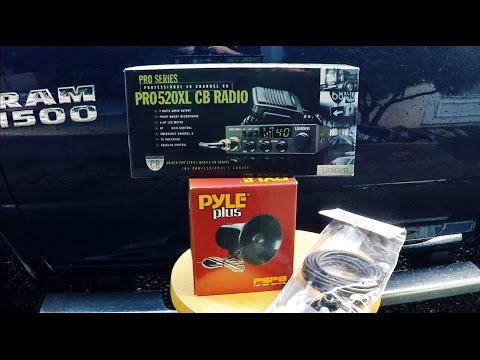 Installing a CB Radio and PA System in a Ram Truck