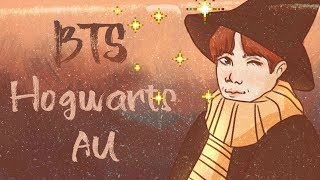 BTS Animación - Hogwarts Au