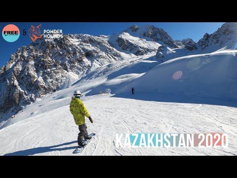 Kazakhstan Snowboarding Trip 2020 - Shymbulak