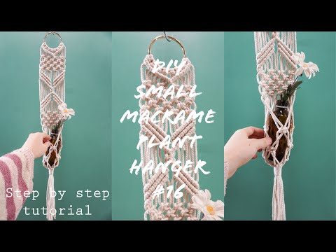 diy-small-macrame-plant-hanger-for-beginners-|-step-by-step-tutorial