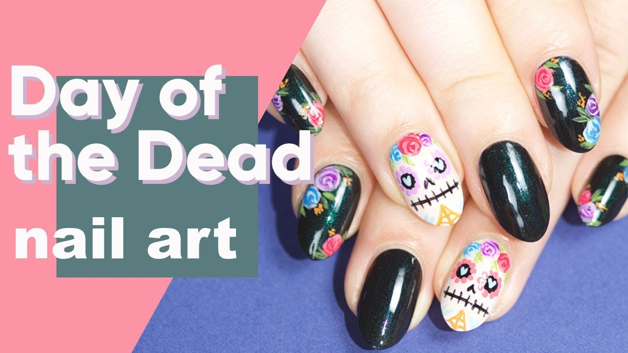 Day of the Dead Nail Art | ipsy Nailed It - YouTube