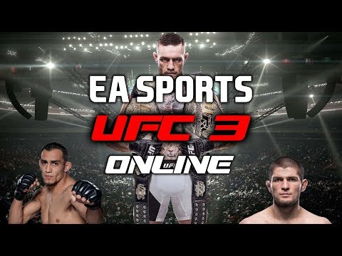 EA Sports UFC 3 ONLINE RANKED FIGHTS and UT