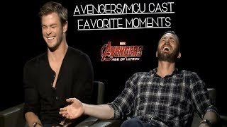 avengers/mcu cast moments that i can watch over and over again (part two)
