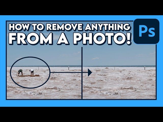 How to REMOVE ANYTHING From a Photo! (Tutorial) / Adobe Photoshop