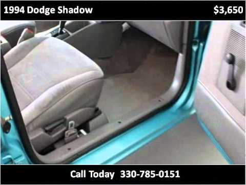 1994 dodge shadow used cars akron oh youtube for Tempest motors in akron ohio
