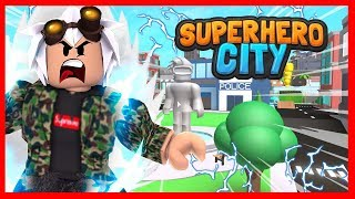 THE MOST STRONG SUPERHEROE 🦸 ♂️ ARRIVES IN THE CITY OF ROBLOX