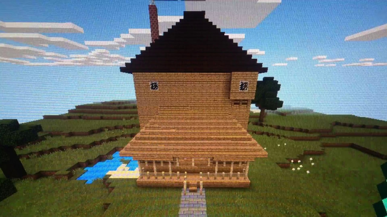 My Minecraft Monster House Model Pt1